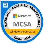 Microsoft MCSA Server 2012R2